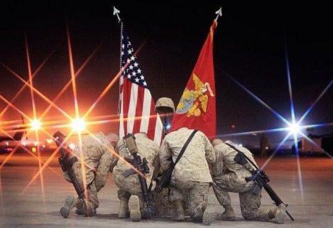 Marines at Rest